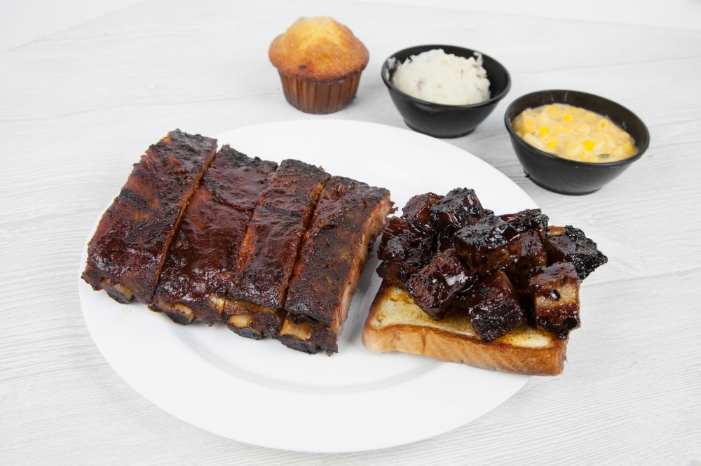 get ribs delivered from Bite Squad