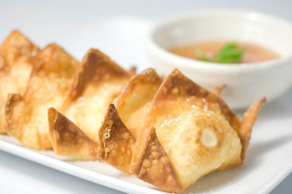 cream cheese wontons for delivery