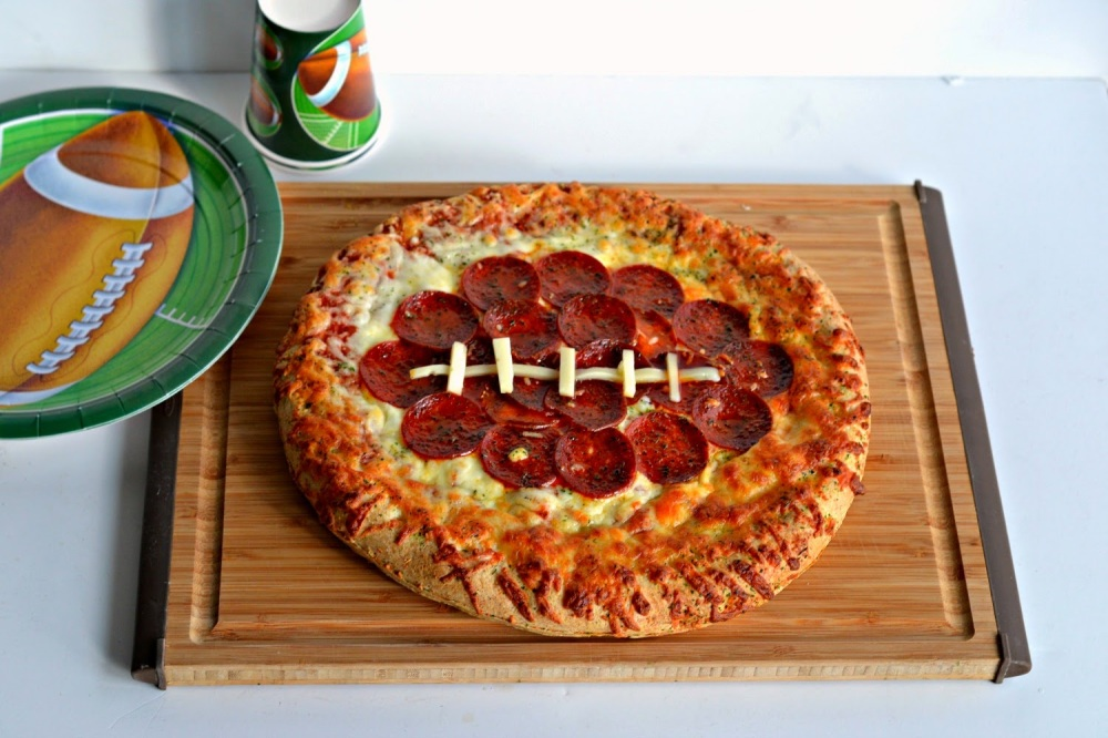 football pizza delivery