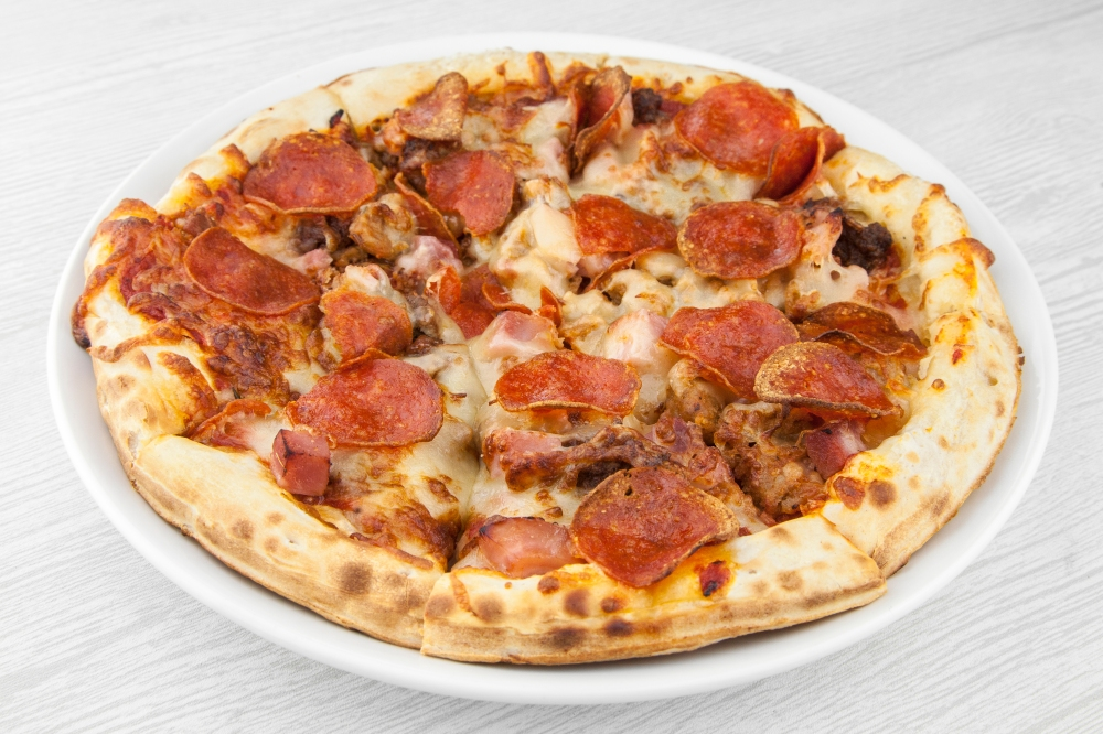meat pizza for delivery