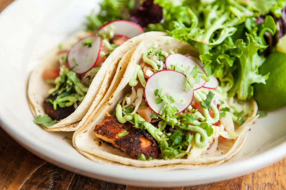 blackened fish tacos for delivery from Bite Squad