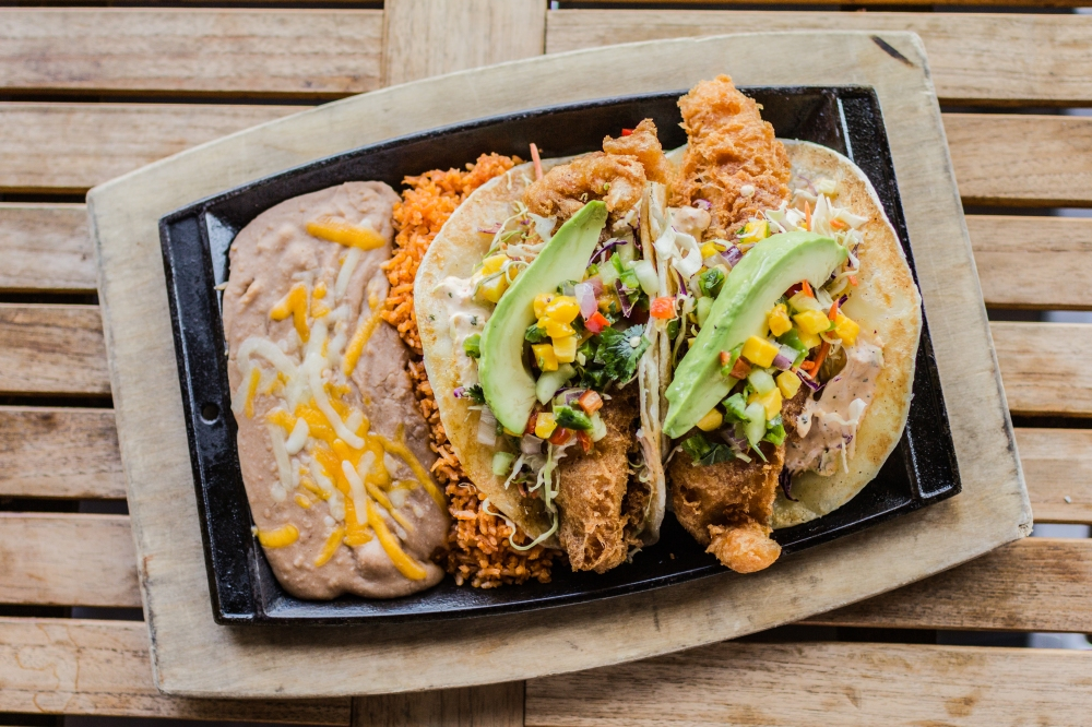 Fish tacos for delivery from Bite Squad