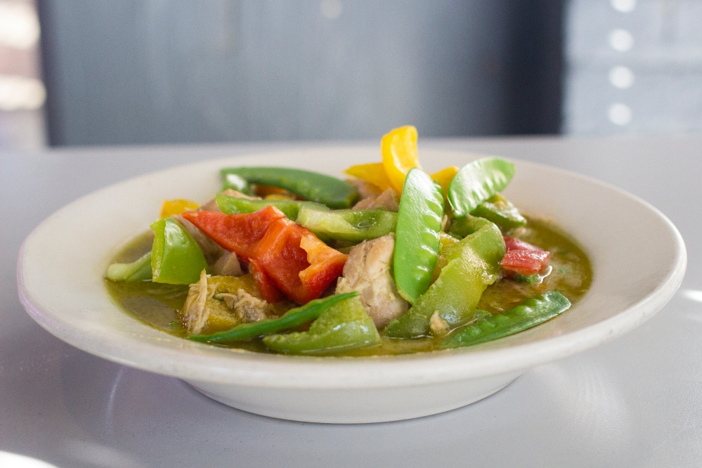 Thai green curry for delivery