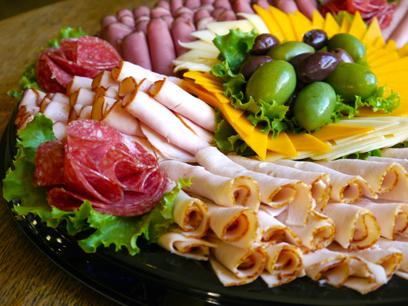 Deli meat and cheese platter for delivery