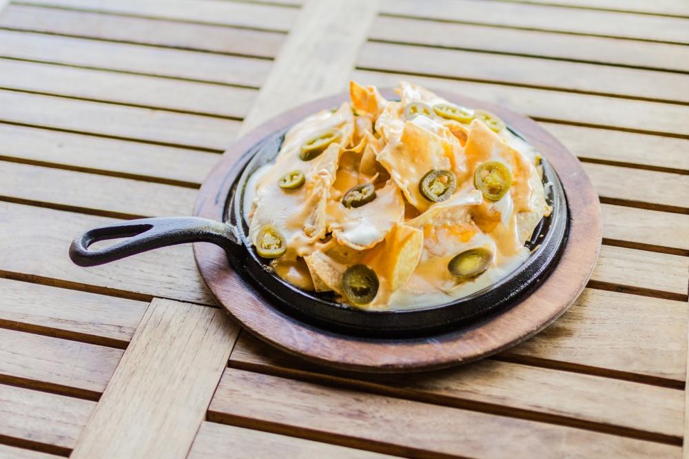 Simple nachos make a great delivery idea