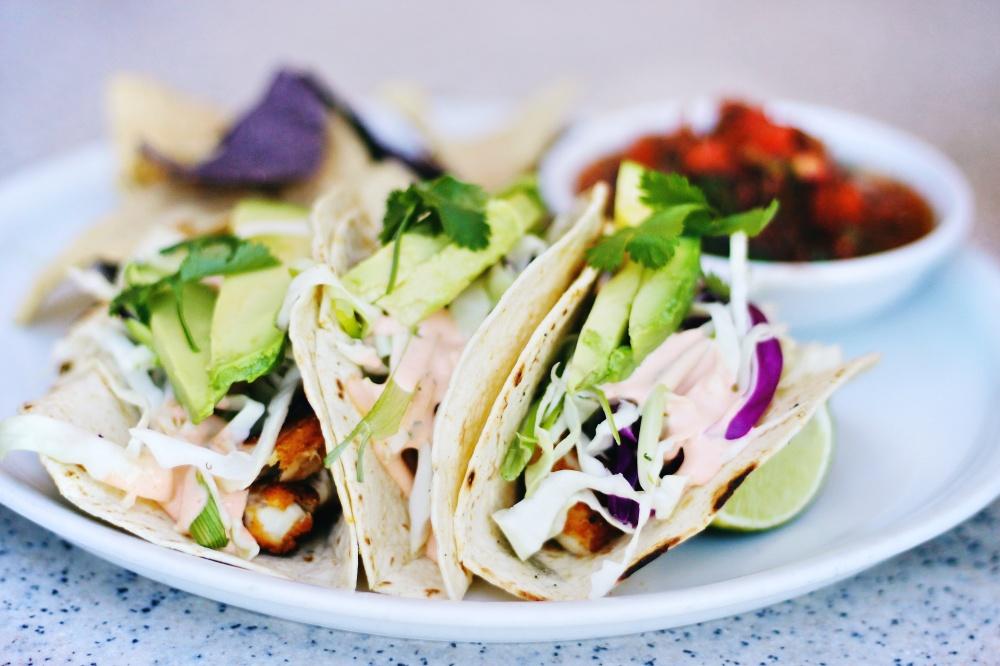 Mahi tacos