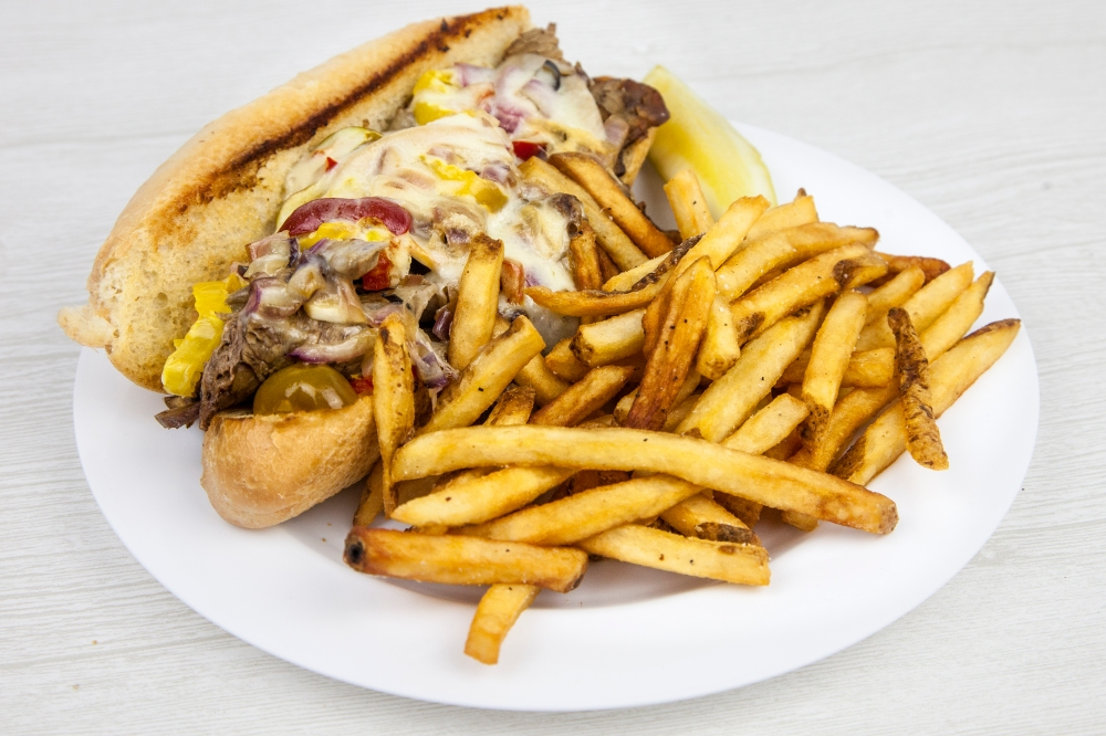 Philly cheesesteak sandwich for delivery