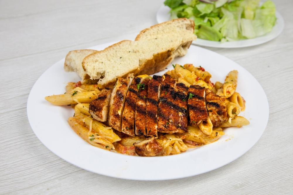Order cajun chicken pasta for delivery