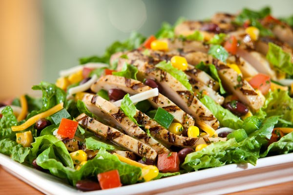Grilled chicken salad for delivery
