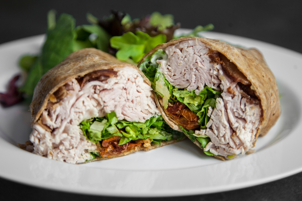 Turkey blt wrap for delivery