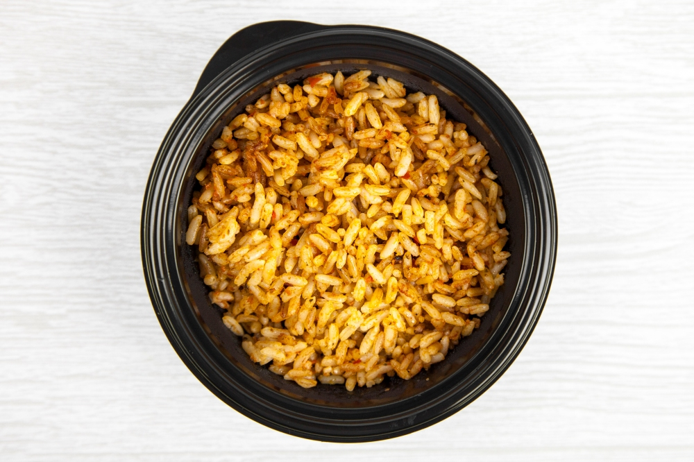 Add an order of Spanish rice to your delivery